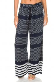 BEACHGOLD |  Pants Hepburn | blue  | Picture 3
