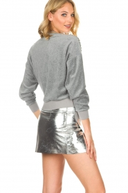 IRO |  Velvet sweater Tapes | grey  | Picture 5