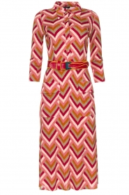 ELISABETTA FRANCHI |  Midi dress Nina | pink  | Picture 1