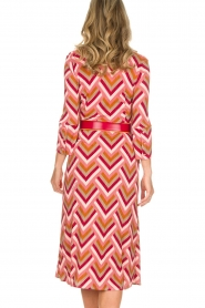 ELISABETTA FRANCHI |  Midi dress Nina | pink  | Picture 7