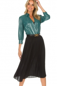 ELISABETTA FRANCHI | Skirt Annabel | black  | Picture 2