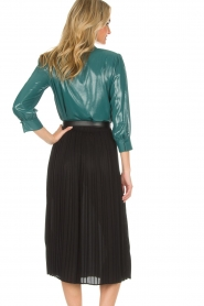 ELISABETTA FRANCHI | Skirt Annabel | black  | Picture 5