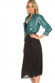 ELISABETTA FRANCHI | Skirt Annabel | black  | Picture 4