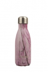 Flaske | Thermosfles Marble Rose warm/koud 260 ml | roze