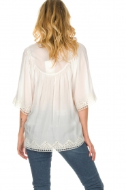 Rabens Saloner |  Blouse Elicia | white  | Picture 5