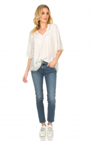 Rabens Saloner |  Blouse Elicia | white  | Picture 3