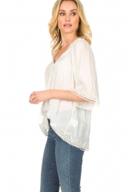 Rabens Saloner |  Blouse Elicia | white  | Picture 4