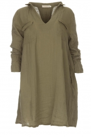 Rabens Saloner |  Dress Agna | green  | Picture 1