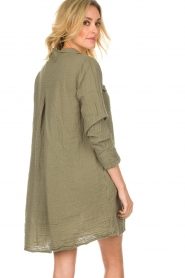 Rabens Saloner |  Dress Agna | green  | Picture 6