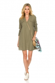 Rabens Saloner |  Dress Agna | green  | Picture 3