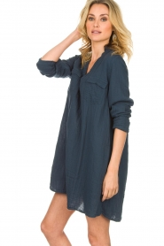 Rabens Saloner |  Dress Agna | blue  | Picture 5