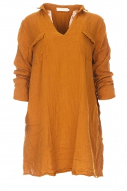 Rabens Saloner |  Dress Agna | brown  | Picture 1
