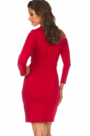 Kocca |  Dress Vanesia | red  | Picture 5