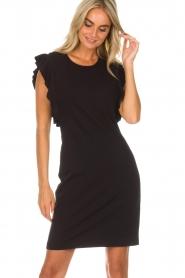 Kocca | Jurk Jazz | zwart: Dress Jazz | black  | Afbeelding 4