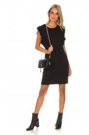 Kocca | Jurk Jazz | zwart: Dress Jazz | black  | Afbeelding 3