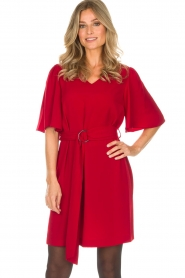 Kocca |  Dress Raola | red  | Picture 4