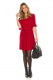 Kocca |  Dress Raola | red  | Picture 3