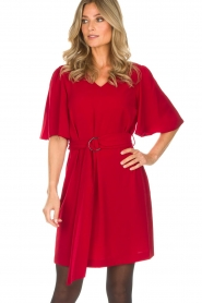 Kocca |  Dress Raola | red  | Picture 2