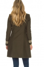 Kocca |  Coat with faux fur collar Bawtok | green  | Picture 5