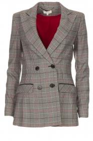 Kocca |  Checkered blazer Giolly | grey  | Picture 1