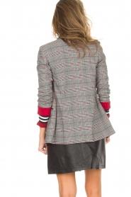 Kocca |  Checkered blazer Giolly | grey  | Picture 6