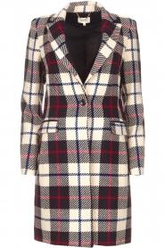 Kocca |  Checkered coat Erada | blue  | Picture 1