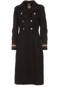 Kocca |  Trench coat Tiwum | black  | Picture 1