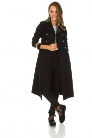 Kocca |  Trench coat Tiwum | black  | Picture 3