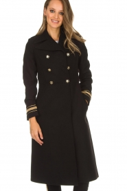 Kocca |  Trench coat Tiwum | black  | Picture 5