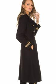 Kocca |  Trench coat Tiwum | black  | Picture 6