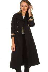 Kocca |  Trench coat Tiwum | black  | Picture 2