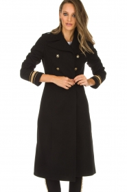 Kocca |  Trench coat Tiwum | black  | Picture 4
