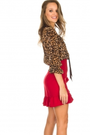 Kocca |  Skirt Buio | red  | Picture 4