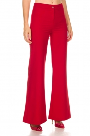 Kocca |  Trousers Canton | red  | Picture 3