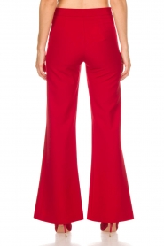 Kocca |  Trousers Canton | red  | Picture 5