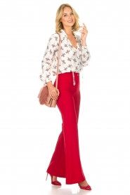 Kocca |  Trousers Canton | red  | Picture 6