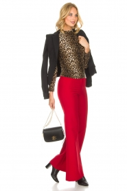 Kocca |  Trousers Canton | red  | Picture 7