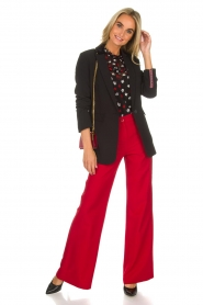 Kocca |  Trousers Canton | red  | Picture 2