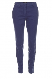 MASONS |  Chino pants New York | blue  | Picture 1