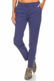 MASONS |  Chino pants New York | blue  | Picture 3