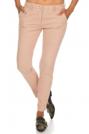 MASONS |  Chino pants New York | light pink  | Picture 2