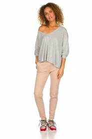 MASONS |  Chino pants New York | light pink  | Picture 3
