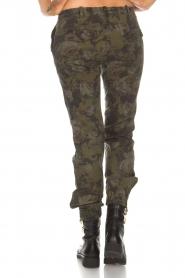 MASONS | Broek met army look Marit | print  | Afbeelding 5