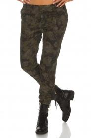MASONS | Broek met army look Marit | print  | Afbeelding 3