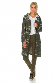 MASONS   Chino broek New York Velvet   groen    Afbeelding 2
