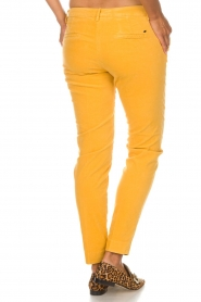 MASONS |  Chino pants New York Velvet | yellow  | Picture 5