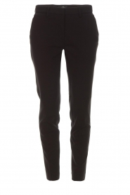 MASONS |  Chino pants New York Jersey | black  | Picture 1