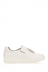 What For |  Slip-on sneakers Sarah | white  | Picture 1
