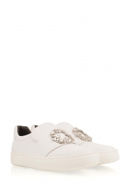 What For |  Slip-on sneakers Sarah | white  | Picture 4
