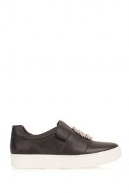 What For |  Slip-on sneakers Sarah | black  | Picture 1